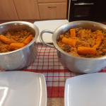 """""""Gambian Jollof rice """"  prepared by one of the older person."""