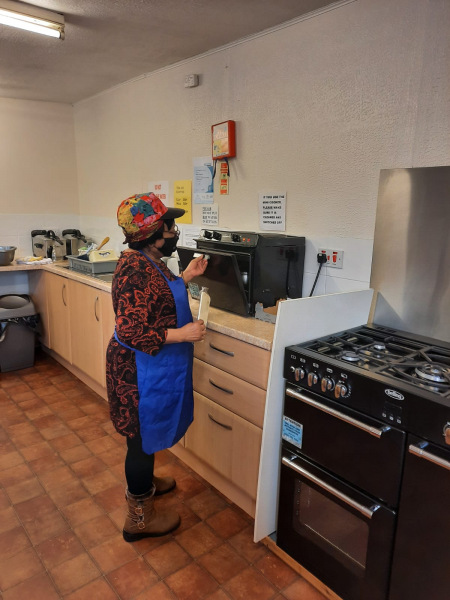 Our kitchen area at the Day Centre.