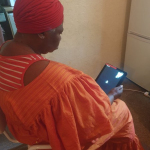 """""""OBADO supported by LANKLLEY CHASE SPACE'S FUND and GM SYSTEMS CHANGERS have equipped older people with equipment and IT skills."""