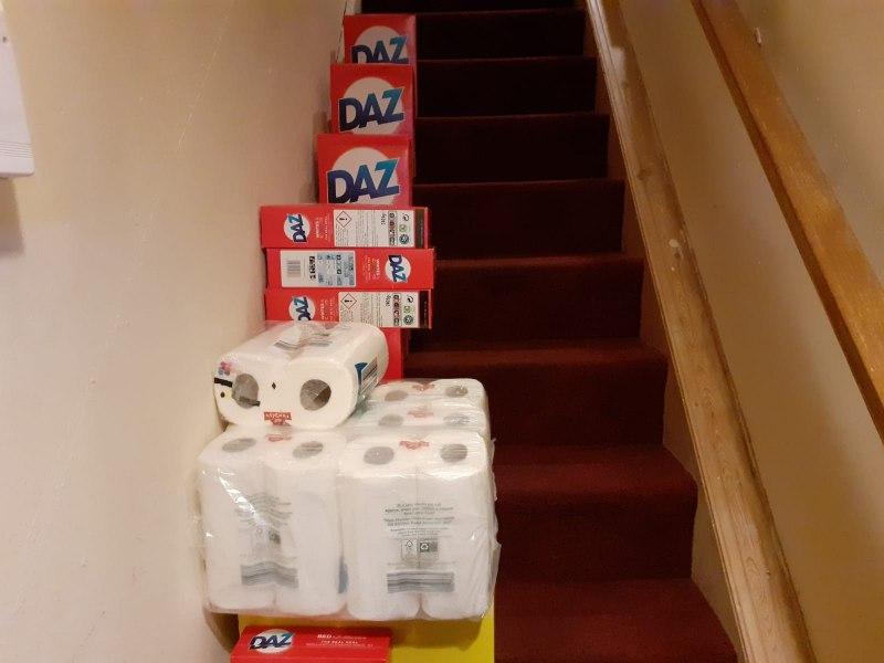 cultural and home essentials deliveries. Food parcel