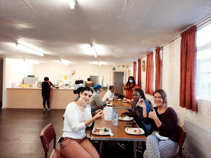 It was awesome at the Day Centre on 3/6/21 when OBADO was visited by three Mental Health Students from the University of Salford.
